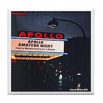 Apollo Theater Marquee Amateur NIght Tile Coaster