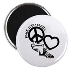 PEACE-LOVE-CLEATS Magnet