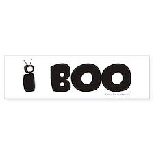 I Boo! Halloween Bumper Bumper Sticker
