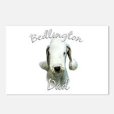 Bedlington Dad2 Postcards (Package of 8)