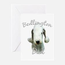 Bedlington Dad2 Greeting Cards (Pk of 20)
