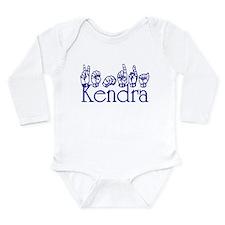 Cute Deafness Long Sleeve Infant Bodysuit