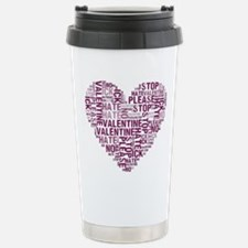 Hate Valentine's Day Travel Mug