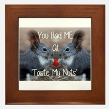 love adult humor Framed Tile
