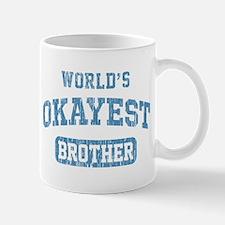 World's Okayest Brother Vintage Small Small Mug