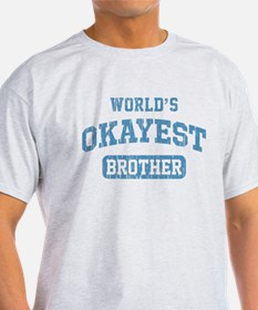World's Okayest Brother Vintage T-Shirt