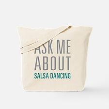 Salsa Dancing Tote Bag