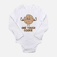 Funny phrase Long Sleeve Infant Bodysuit