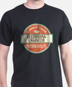 recording engineer vintage logo T-Shirt