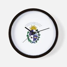 Uruguay Wall Clock