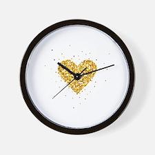 Unique Heart Wall Clock