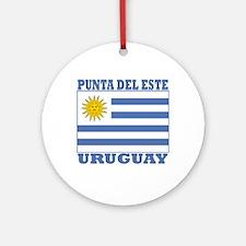 Punta del Este, Uruguay Ornament (Round)