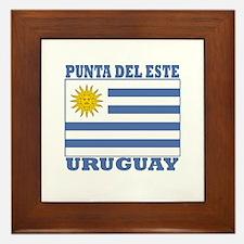 Punta del Este, Uruguay Framed Tile