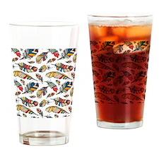 Cute Tribal Drinking Glass