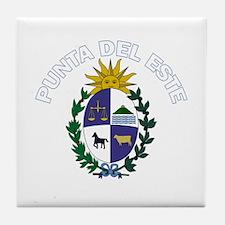 Punta del Este, Uruguay Tile Coaster