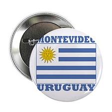 Montevideo, Uruguay Button