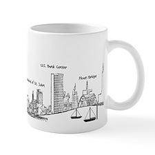 Milwaukee Skyline Mugs