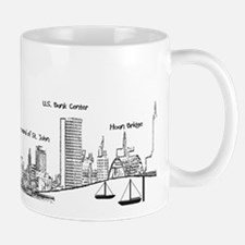 Milwaukee Skyline Mugs