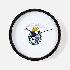 Montevideo, Uruguay Wall Clock