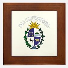 Montevideo, Uruguay Framed Tile