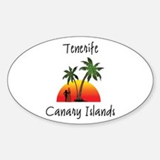 Tenerife Canary Islands Decal