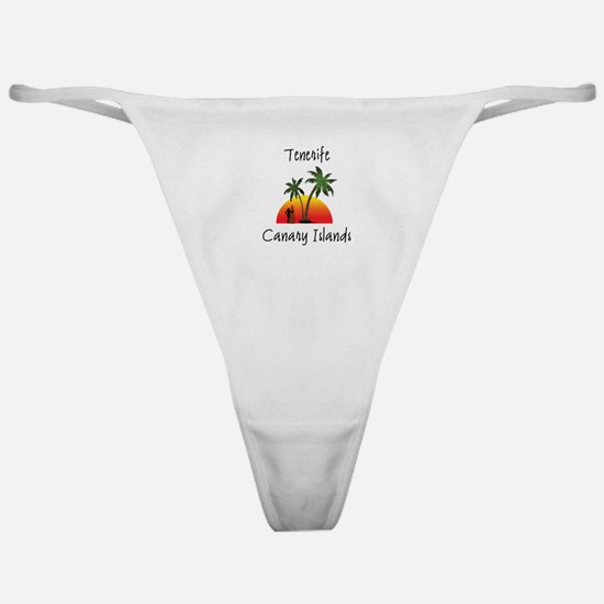 Tenerife Canary Islands Classic Thong