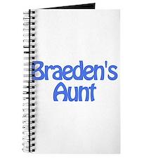 Braeden's Aunt Journal