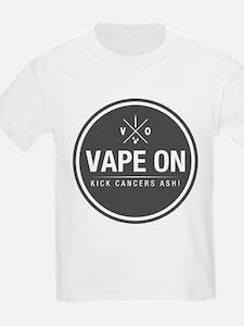 Kick Cancers Ash! T-Shirt