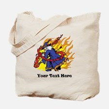 Custom Wizard Design Tote Bag