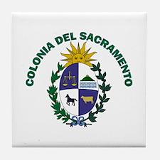 Colonia del Sacramento, Urugu Tile Coaster