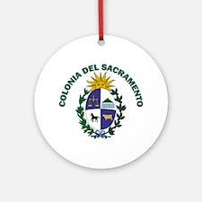 Colonia del Sacramento, Urugu Ornament (Round)