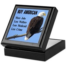 Buy American Keepsake Box