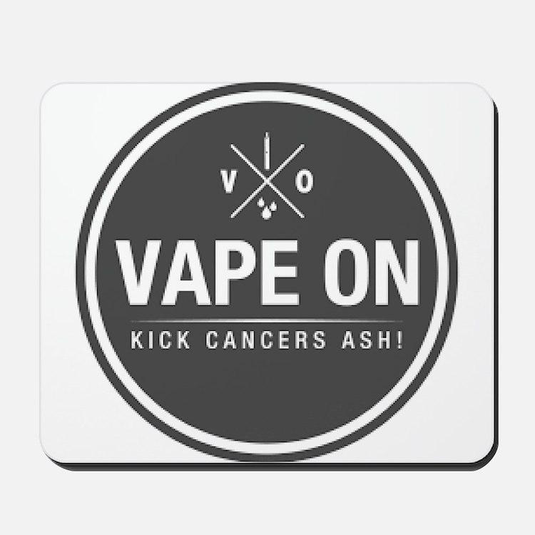 Kick Cancers Ash! Mousepad