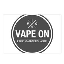 Kick Cancers Ash! Postcards (Package of 8)