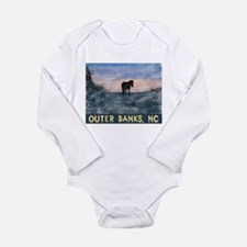 Outer Banks Dune Wild Horse Body Suit