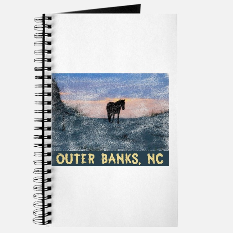 Outer Banks Dune Wild Horse Journal
