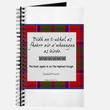 The Best Scottish Apple Journal