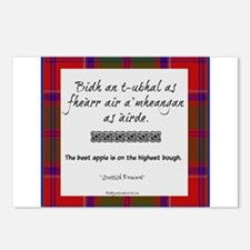 The Best Scottish Apple Postcards (Package of 8)