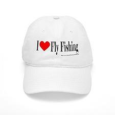 I Heart Fly Fishing Baseball Cap