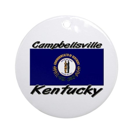 Campbellsville Kentucky Ornament (Round)