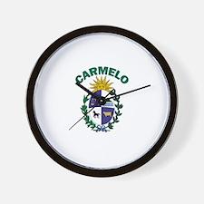 Carmelo, Uruguay Wall Clock