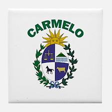 Carmelo, Uruguay Tile Coaster