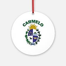 Carmelo, Uruguay Ornament (Round)