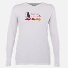 Unique Pet mom Plus Size Long Sleeve Tee