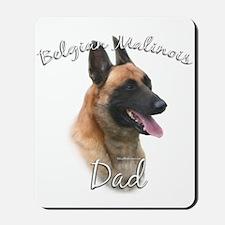 Malinois Dad2 Mousepad