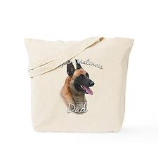 Malinois Dad2 Tote Bag