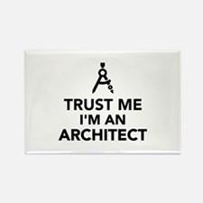 Trust me I'm an Architect Rectangle Magnet