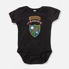 Cool 1st infantry Baby Bodysuit