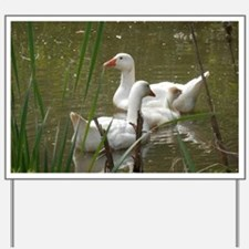 Cute Ducks Yard Sign