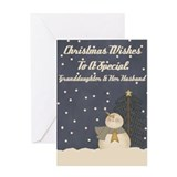 Granddaughter and husband christmas Greeting Cards